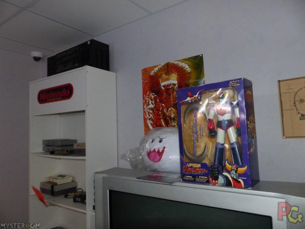 Escape Game Geek OLI - déco Nintendo