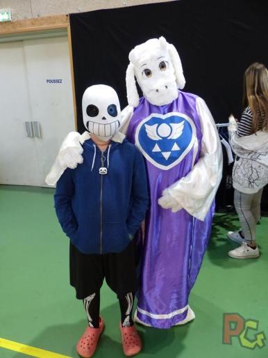 Japan Aurea 11ème édition - cosplay undertale et furry
