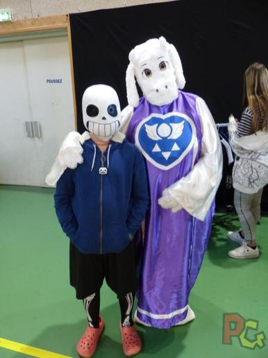 Japan Aurea 11ème édition - cosplay undertale et furry