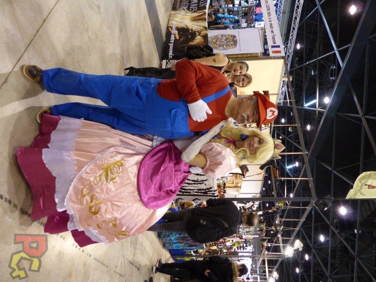 Hero Festival Saison 5 - cosplay Mario et Peach