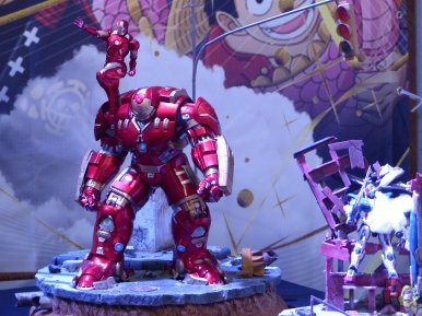 Hero Festival Saison 5 - exposition figurines Iron Man