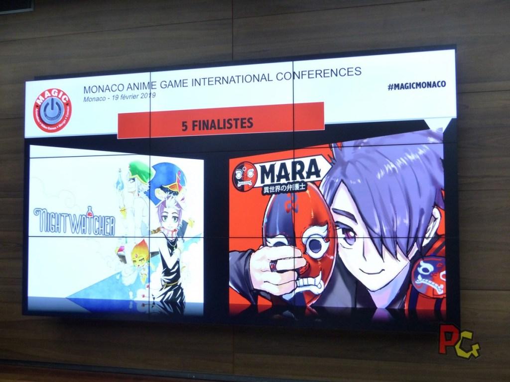 Conférence de presse 5ème MAGIC - projets concours manga