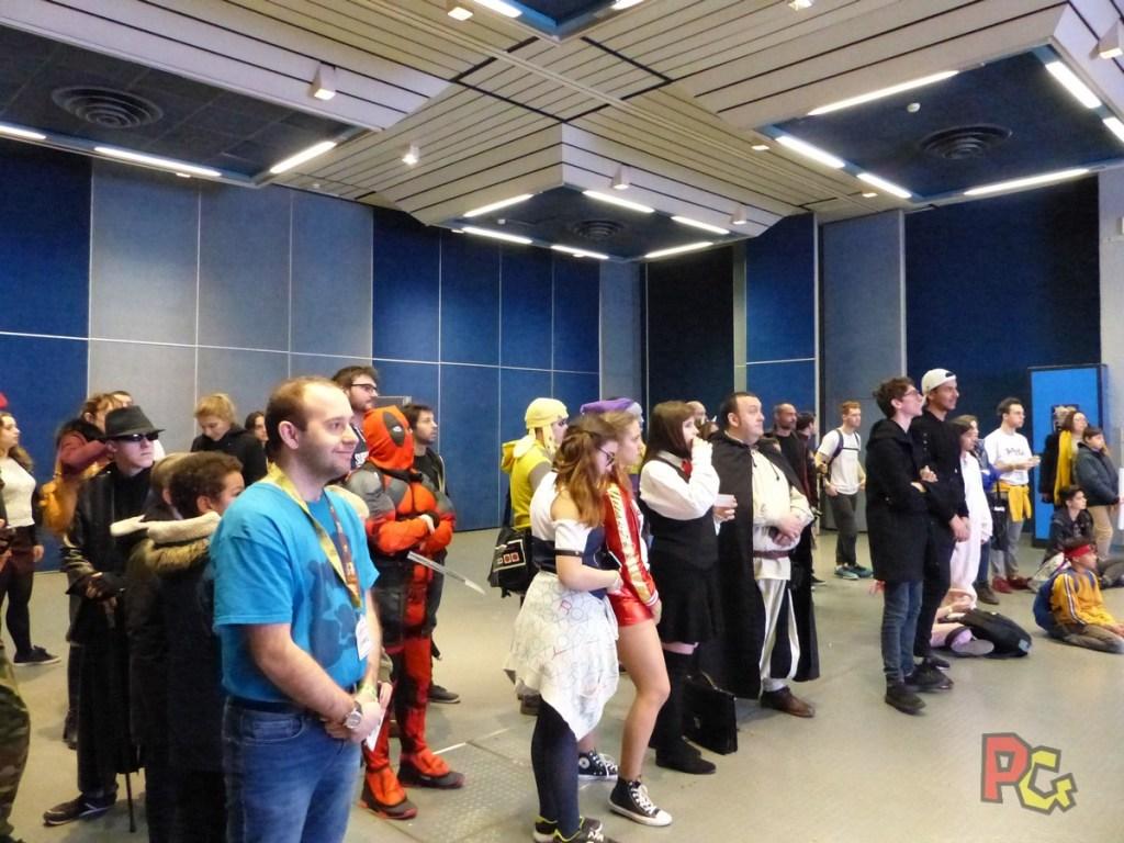 Premier stand en convention PAF2019 - public du quiz