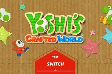 Bannière test Yoshi Switch
