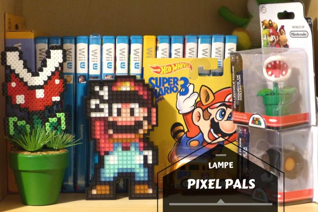 Bannière lampe pixel pals super mario world
