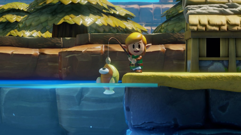 Nintendo E3 2019 - Zelda Links Awakening peche