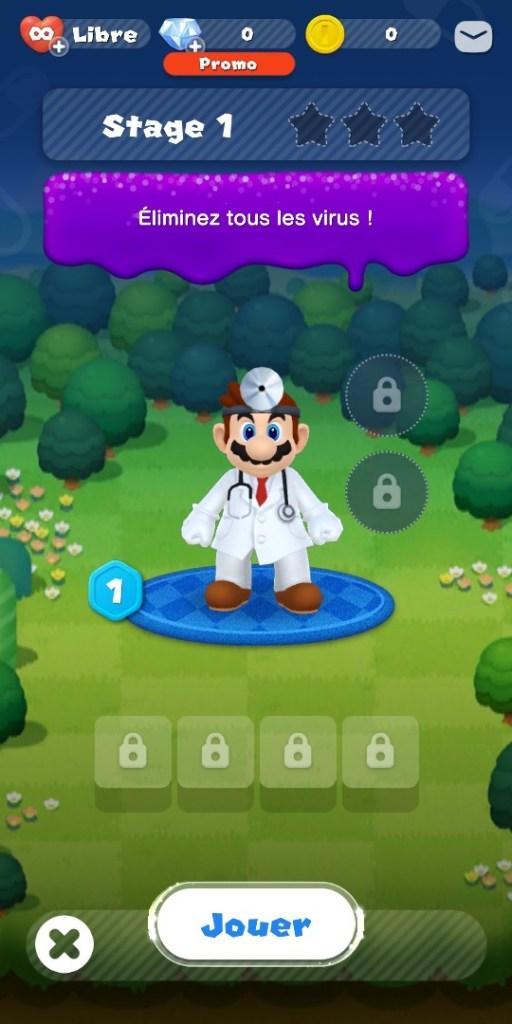Dr Mario World - Mario