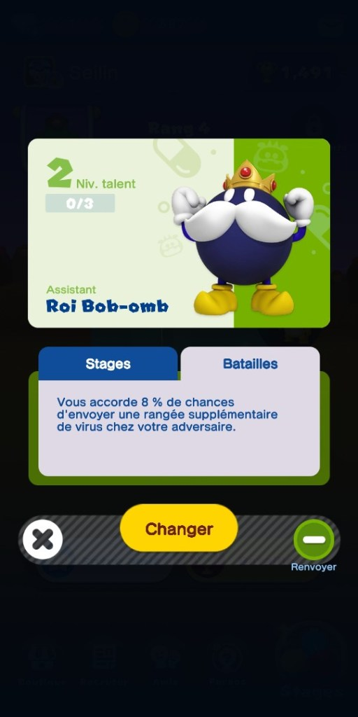 Dr Mario World - fiche assistant