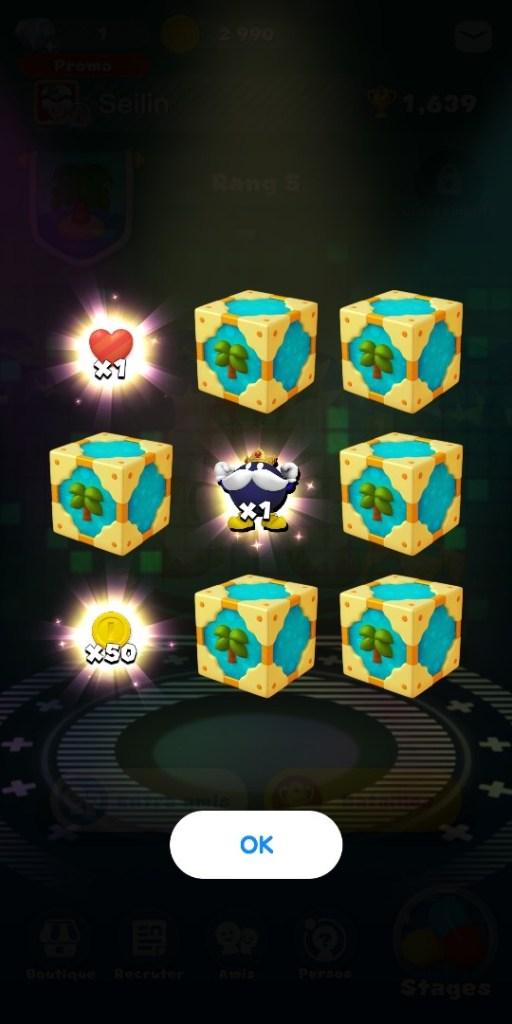 Dr Mario World - gain boîte bataille