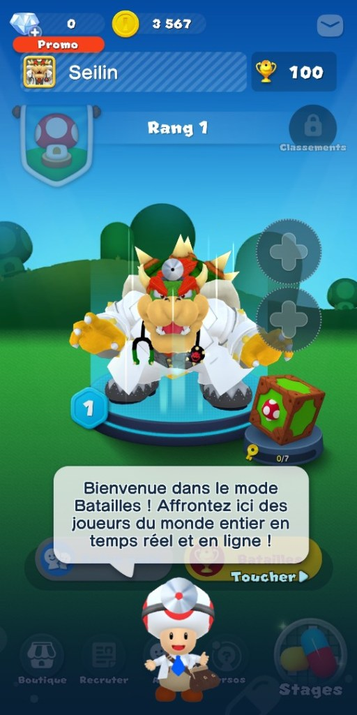 Dr Mario World - mode bataille