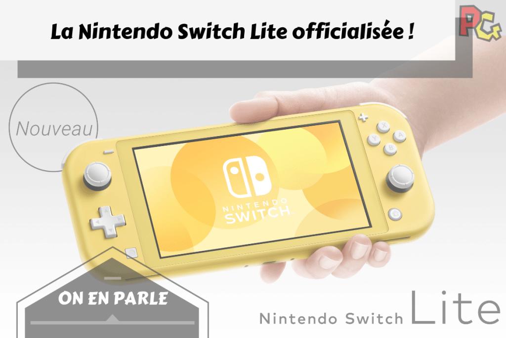 Nintendo Switch Lite officialisée