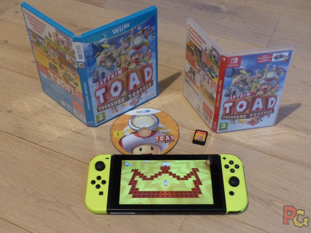 OEP Portages Switch - Captain Toad Switch et Wii U