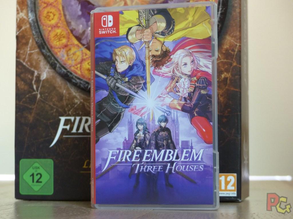 Unboxing Fire Emblem Three Houses - jaquette