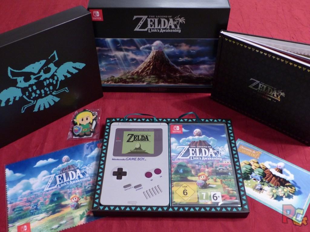 Collector Zelda Link's Awakening - collector complet
