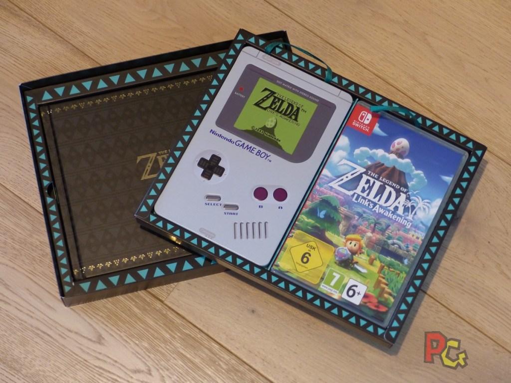 Collector Zelda Link's Awakening - intérieur du collector