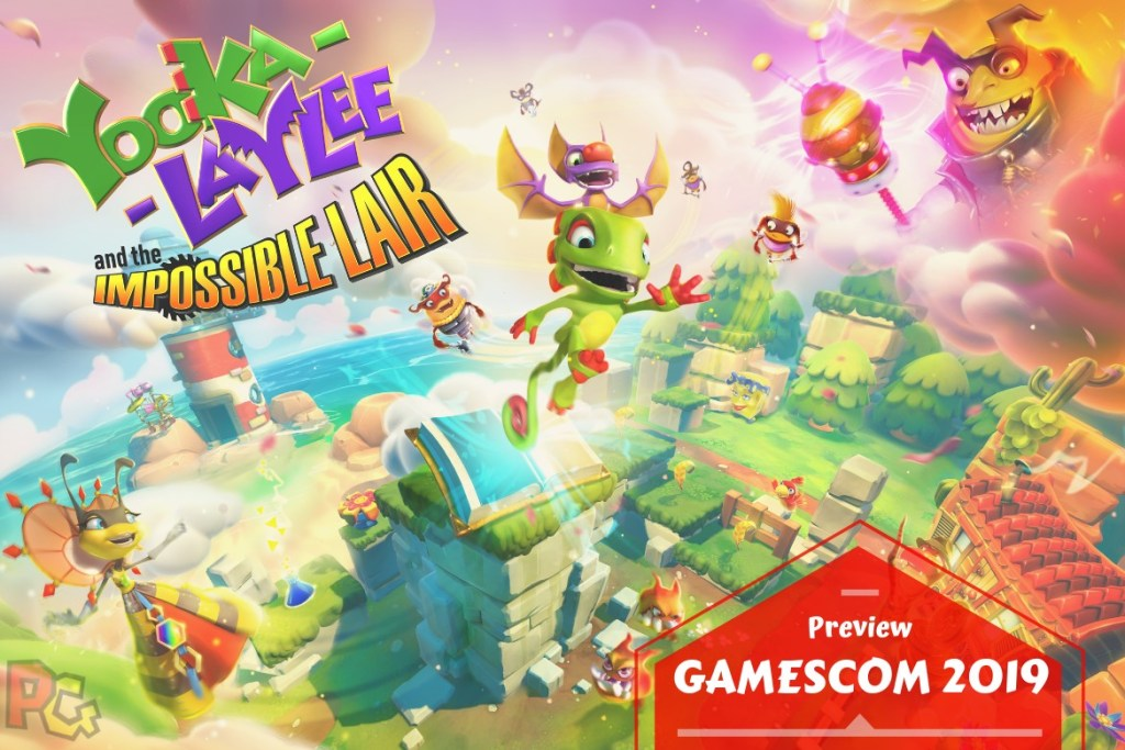 Preview gamescom Yooka-Laylee and the Impossible Lair