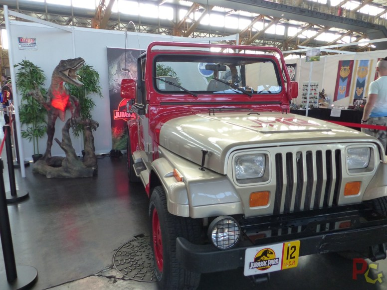 TGS Lyon 2019 - jeep jurassic park