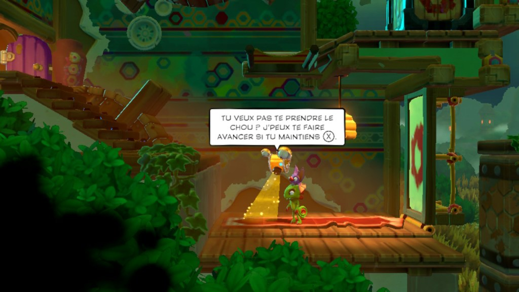 Yooka-Laylee and the Impossible Lair - aide