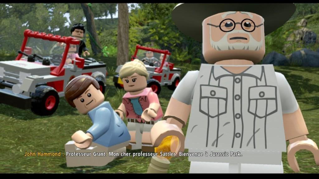 Lego Jurassic Parc - bienvenue
