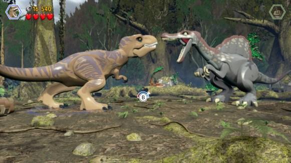 Lego Jurassic World - action dinosaure