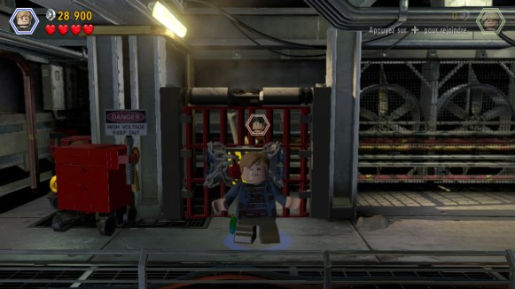 Lego Jurassic World - mauvais personnage