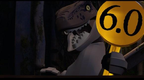 Lego Jurassic World - raptor note