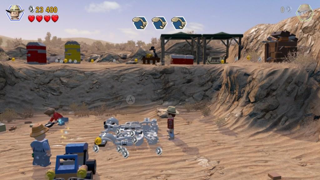 Lego Jurassic World - squelette à construire