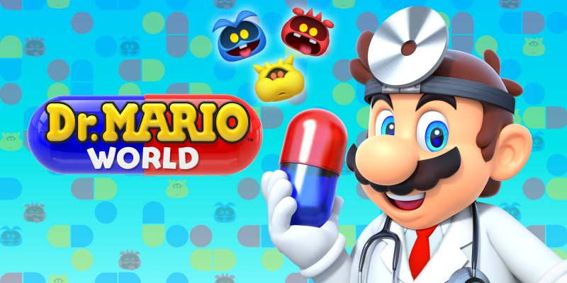 Dr Mario World banner