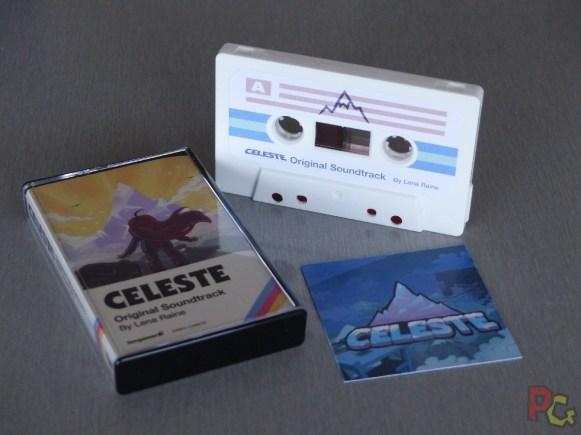 Unboxing collector Celeste - cassette et code