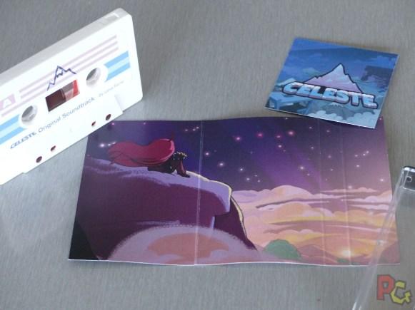 Unboxing collector Celeste - cassette et jaquette intérieure
