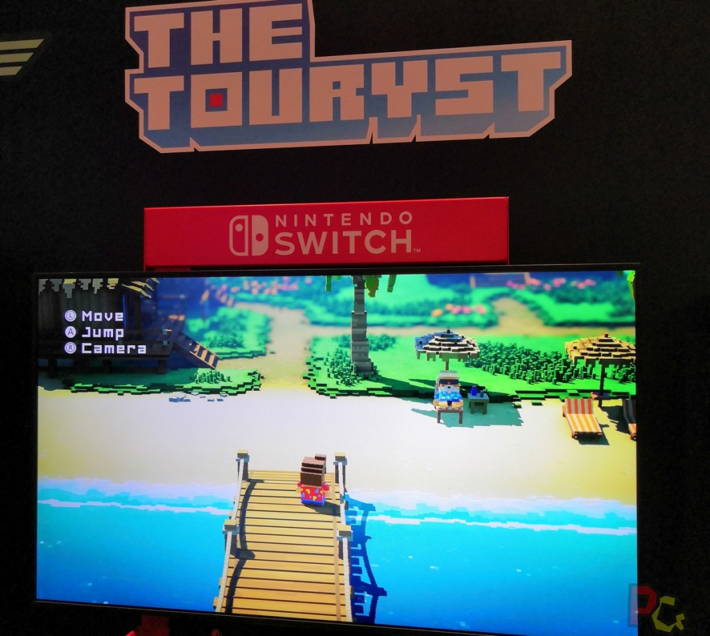 Nintendo GC2019 - The Touryst plage