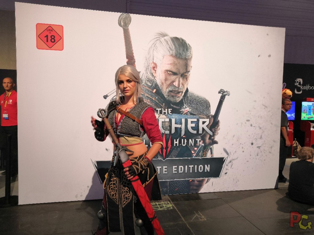 Nintendo GC2019 - cosplay the witcher 3