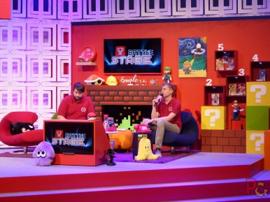 Nintendo GC2019 - scène côté salon