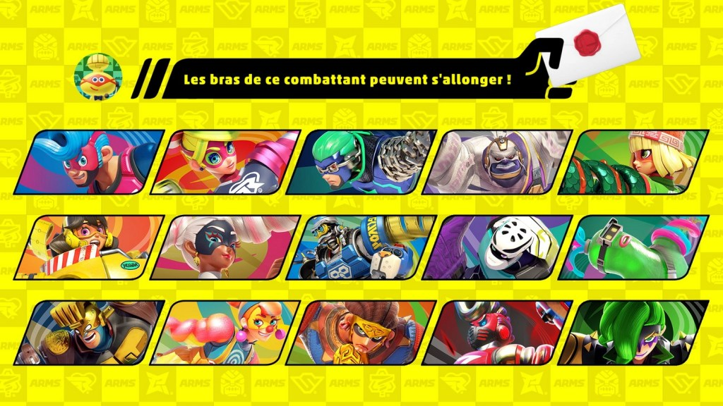 set combattant arms smash bros ultimate