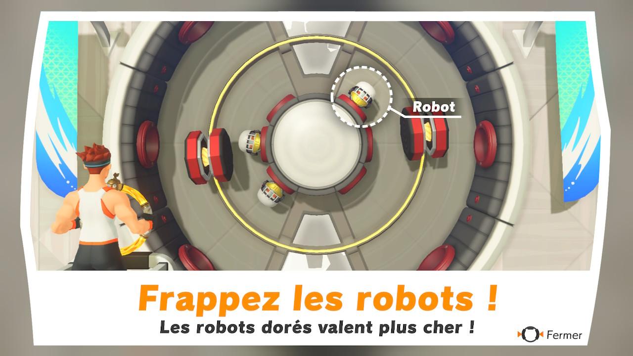 RFA - mini jeux robots
