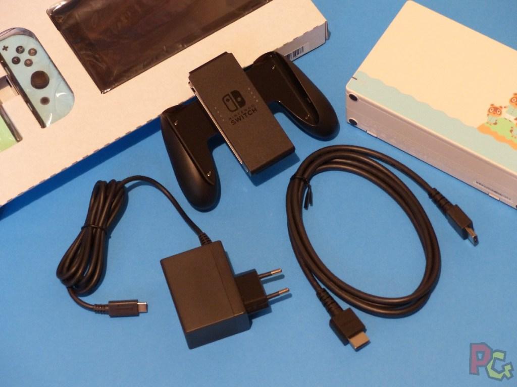 Switch édition limitée ACNH - accessoires