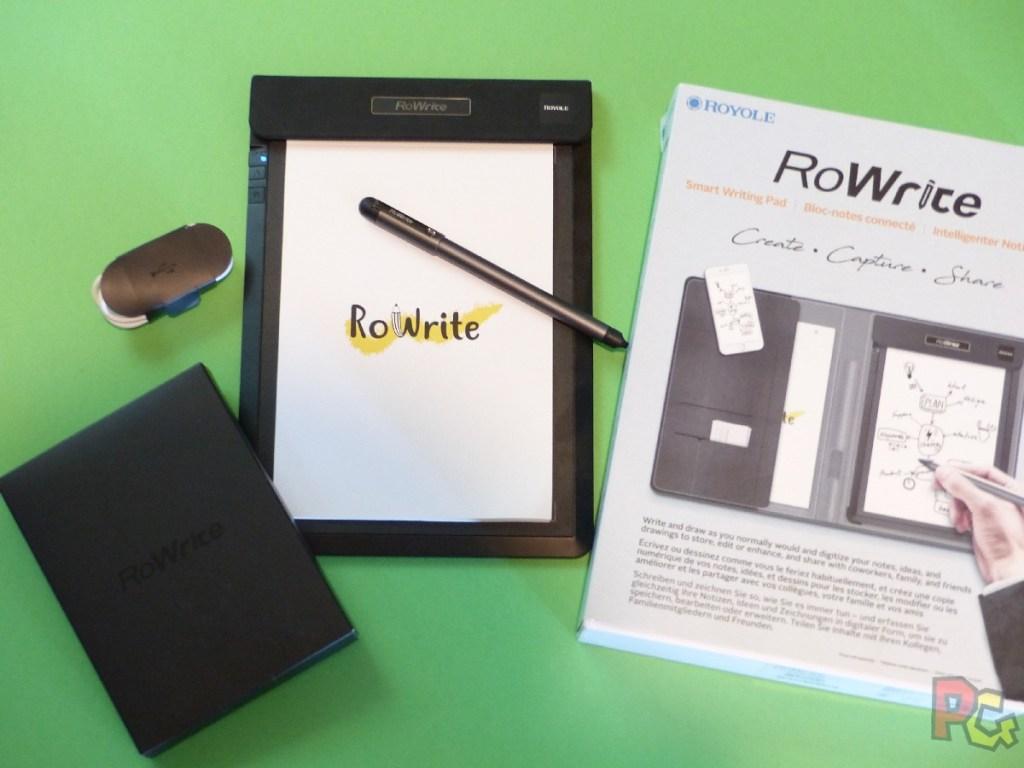 Tablette RoWrite - contenu du pack
