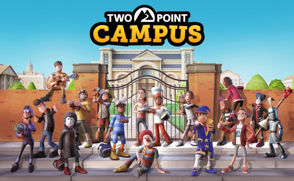 Two Point Campus_Key Art