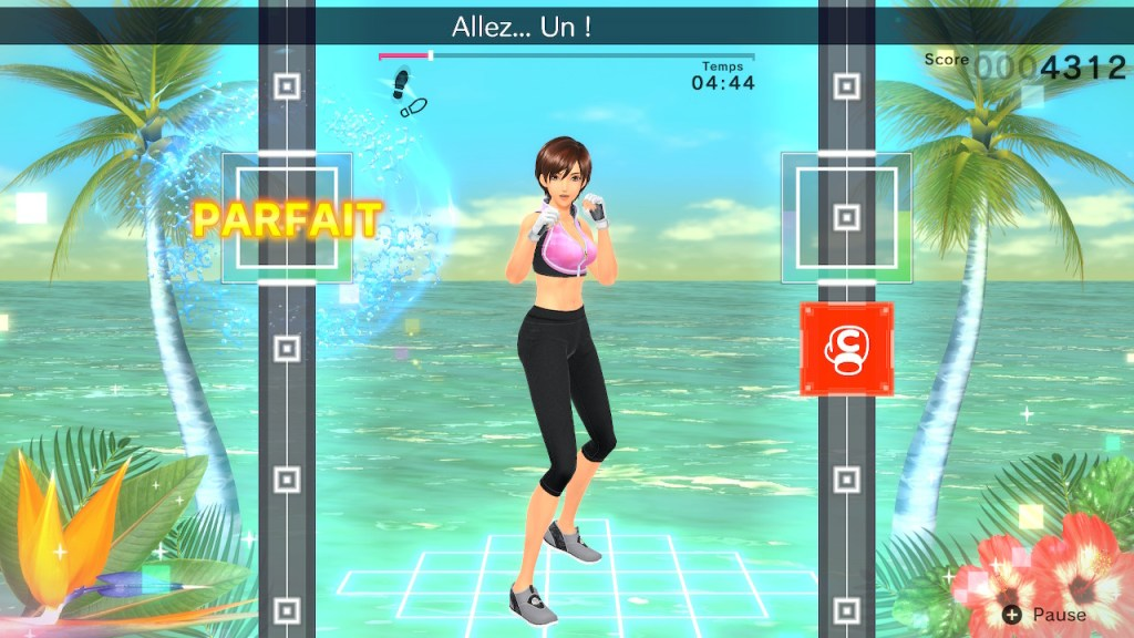 Fitness Boxing 2 - plage