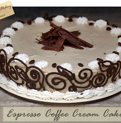 Baking | ESPRESSO COFFEE CREAM CAKE … Happy Birthday to me!!