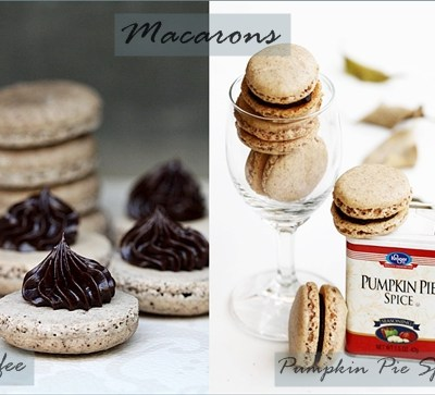 Baking | Coffee Macarons & Pumpkin Pie Spice too – I'd FALL for these anyday!