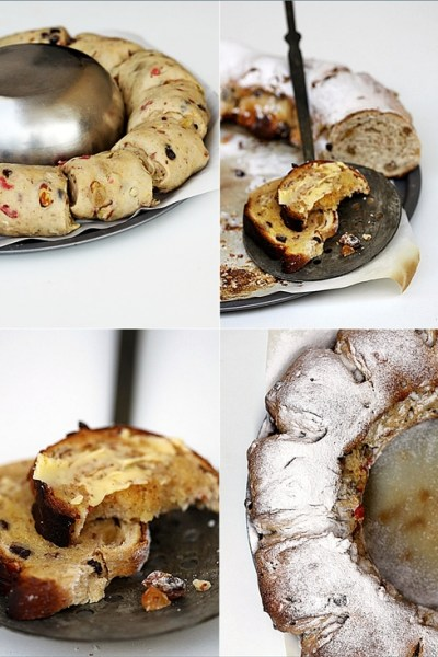Baking| STOLLEN PUDDING … a Daring Bakers Stollen in Bread Pudding