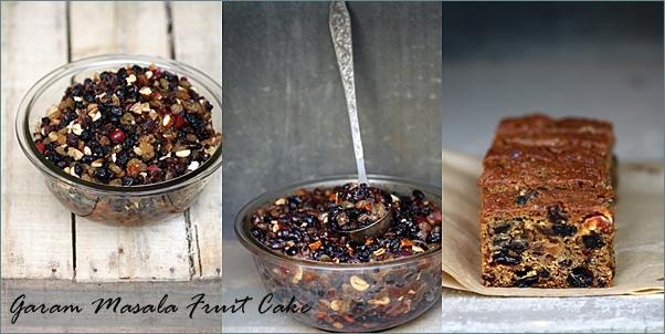 Garam Masala Fruit Cake