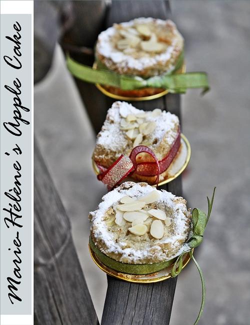 Marie-Hélène's Apple Cake, Dorie Greenspan