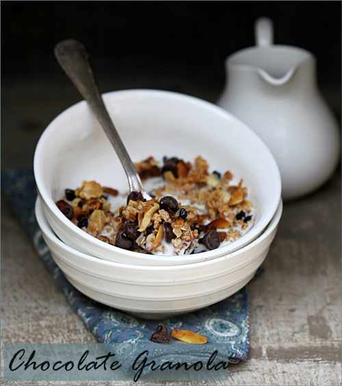 Baking | Chocolate Granola {gluten free} … the granola that changed my life!