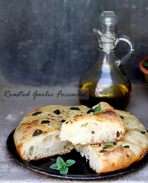Baking | Roasted Garlic Foccacia … & a salute to the 'Fukushima 50'!