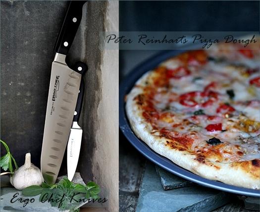 Baking| ERGO Knives {a review} & the best pizza dough ever {Peter Reinhart}