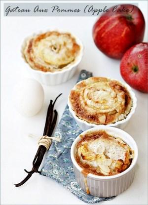 Gateau Aux Pommes, Apple Cake