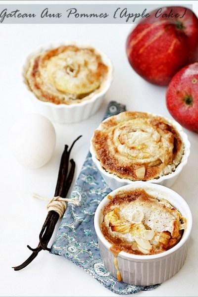 Baking| Gateau Aux Pommes … Comforting Apple Cake!