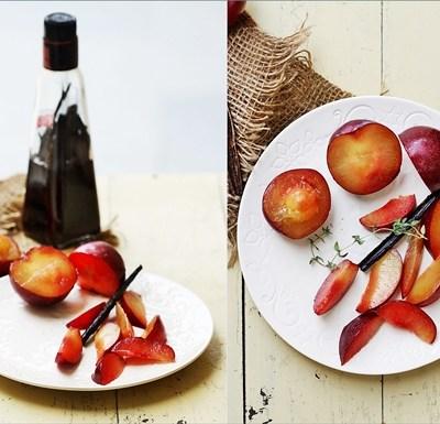 Baking| Vanilla Almond Frangipane Plum Tart … the last of the plums {well almost}